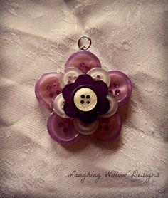Button pendant