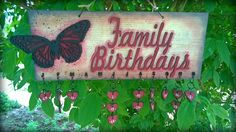 Country Birthdays Sign - DT project for Fernli Designs  https://www.youtube.com/watch?v=ykMkhVIGG28 https://pollonalterationsblog.wordpress.com/2016/04/17/country-birthday-calendar-fernli-designs-dt-project-of-march/