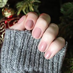 Nails Inc Uptown polish, such a nice dusty pink/nude!! #themattestandard