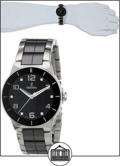 FESTINA F16531/2 - Reloj de mujer de cuarzo, correa de acero inoxidable color varios colores  ✿ Relojes para mujer - (Gama media/alta) ✿