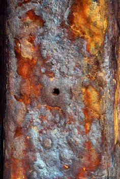 Rusted Metal English Sea Defence Series - Signed Limited Edition Fine Art Photography Wall Art - Mu