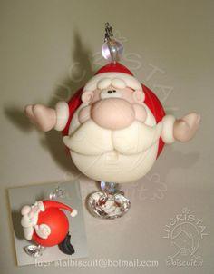 Meu Noelzinho pra pendurar no Pinheiro! <3