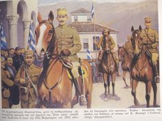 Hellenic Army, Army Drawing, In Ancient Times, Military History, Troops, Ww2, Camel, Drawings, Military Uniforms