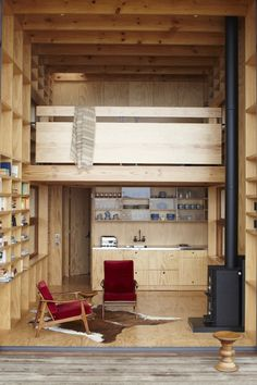 Whangapoua Sled House by Crosson Clarke Carnachan in thisispaper.com
