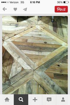 Pallet floor design