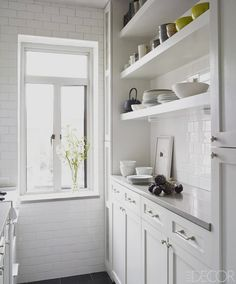 1000 ideas about white galley kitchens on pinterest for Expanding a galley kitchen