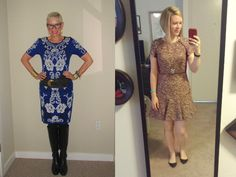 What We Wore: Great Dresses - Two Take on Style
