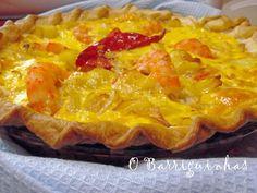 Quiche Tortilha 3 Queijos e Camarão Favas Guisadas, Quiches, Hawaiian Pizza, Macaroni And Cheese, Pie, Ethnic Recipes, Desserts, Food, Potato Salad Recipes