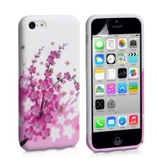 YouSave iPhone 5C Floral Bee Silicone Gel Case   Mobile Madhouse