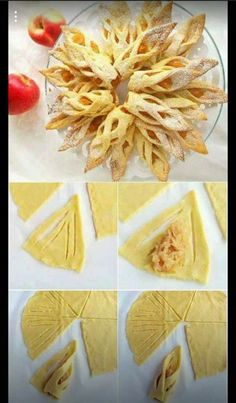 111 Perfect Dessert Dough Models Hand and Homemade – Pancake Recipes and Picture… - Pastry Diy Dessert, Dessert Decoration, Dessert Recipes, Pancake Recipes, Pastry Recipes, Apple Recipes, Homemade Pancakes, Snacks Für Party, Creative Food