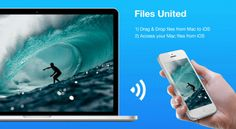Zuhanden GmbH releases Files United for Mac OS X, desktop companion app that seamlessly allows you to access your Mac files on your iOS devices. #mobile #Mac #iOS #iPad #iPhone