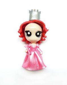 SALE  Glinda  Miniature Sculpture  Charm by WonderlandContraband, $20.00 Wizard of Oz