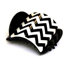 Mia Beauty Super Clamp Solid Square, Chevron Print * Check out this great product.