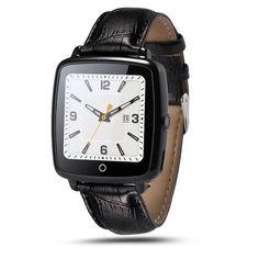 2016 nwe mode smartwatch lederband smart watch unterstützung micro sim-karte bluetooth konnektivität für apple android telefon //Price: $US $39.81 & FREE Shipping //     #smartuhren