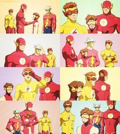 Flashfam in Young Justice 'Bloodlines'