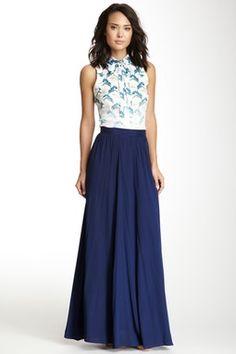 Silk Maxi Skirt on HauteLook
