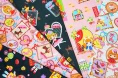 lolita fabric scrap SL55 by beautifulwork on Etsy, $5.50