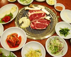 typical restaurant experience in Korea