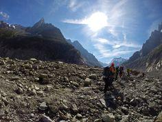 Mont Blanc Trip 2014: Walking on Mer de Glace