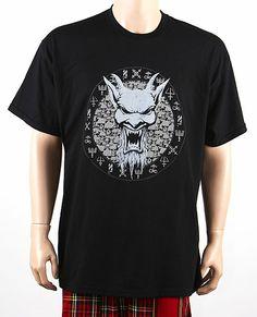 Camiseta MC Devils Head & Skulls