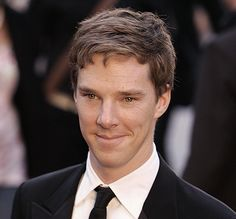 Benedict Cumberbatch (love the name!) ~ he looks a bit different here than he does as Sherlock