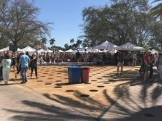 West Palm Beach Green Markets run from October to April every year on the waterfront in downtown WPB.