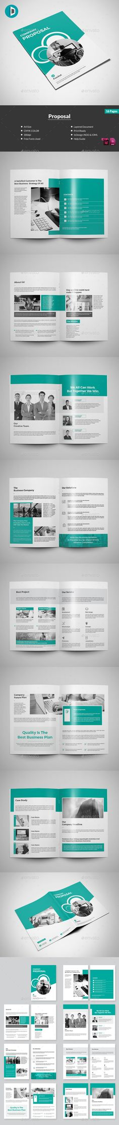 Proposal Proposals, Minimal and Business proposal - microsoft word proposal templates