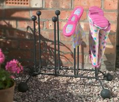 welly stand / rack for wellington boot storage