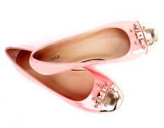 #Cute #Pink #Ballet #Flats