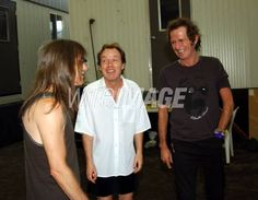Malcolm and Angus Young - AC/DC, Keith Richards - Rolling Stones