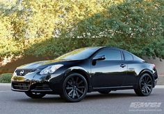 """2012 Nissan Altima with 20"""" Gianelle Wheels by Wheel Specialists, Inc. in Tempe AZ . Click to view more photos and mod info."""