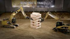 Built For It Trials: Jenga mit Baggern
