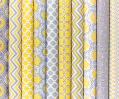 Gray Matters fabric - bold, punchy designs for Springtime sewing