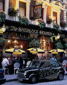 the Sherlock Holmes - London  London is the most amazing place in the world hands down.   Goal=to study abroad there for a semester or a year