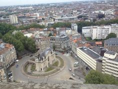 View from the Belfry of the town hall