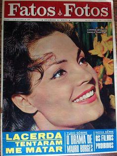 Carmen Sevilla - Fatos E Fotos (fatosefotos) Magazine Cover [Brazil] (21 November 1964)