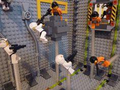 Ender's Game: Battleroom w/Legos