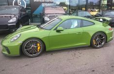 Porsche 991.2 GT3 painted in paint to sample Olive Green  Photo taken by: @frankwjd on Instagram  Owned by: @frankwjd on Instagram