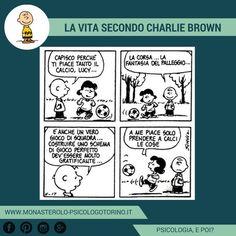 La vita secondo #CharlieBrown: Sfogare l'aggressività. #Peanuts