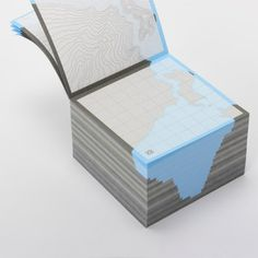 Fab.com | Geographic-Inspired Paper Products