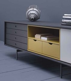 Buffet en bois de style contemporain AURA C8-2 - TREKU