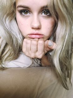 I LOVE the big eyes, septum, and love the shade of blonde!