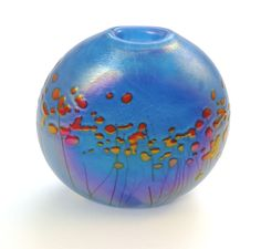 R. Held art glass vase. Superb!