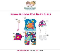 #Beautiful #look for #babygirls  from  #TucTuc and #Clarin. Check at   www.kidsandchic.com/baby  #girlsclothing #girlsfashion #kidsfashion #trendychildren #kidsclothing #shoppingbarcelona #tshirts #toys #dummychain #leggings #spain #barcelona #socks #sunhats