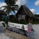 les transats et la cabane a Don Diego de la playa