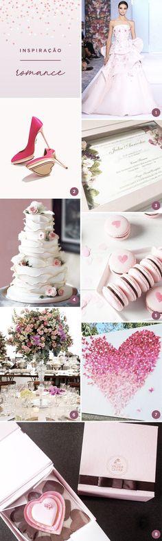 Que tal uma festa de 15 anos com tema romance? Muitas flores, corações e tons delicados de rosa! Vem ver nossas 8 ideias!