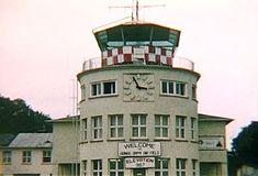 Fleigerhorst, Germany | Flight tower at Hanau Army Airfield, Fliegerhorst Kaserne.
