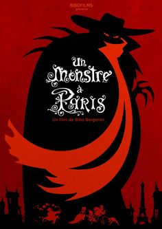 Un Monstre a Paris (A Monster in Paris) I LOVE this movie! And I love the fact that Sean Lennon sang Francœur's part in the English version! Film D'animation, Film Books, Film Serie, French Movies, Old Movies, Trollhunters Steve, La Belle Epoque Paris, Paris Film, Great Movies To Watch