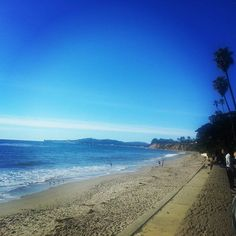 A big place in my ♡ Butterfly Beach in Montecito California
