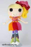 LALALOOPSY April Sunsplash Crochet Amigurumi Doll by Npantz22